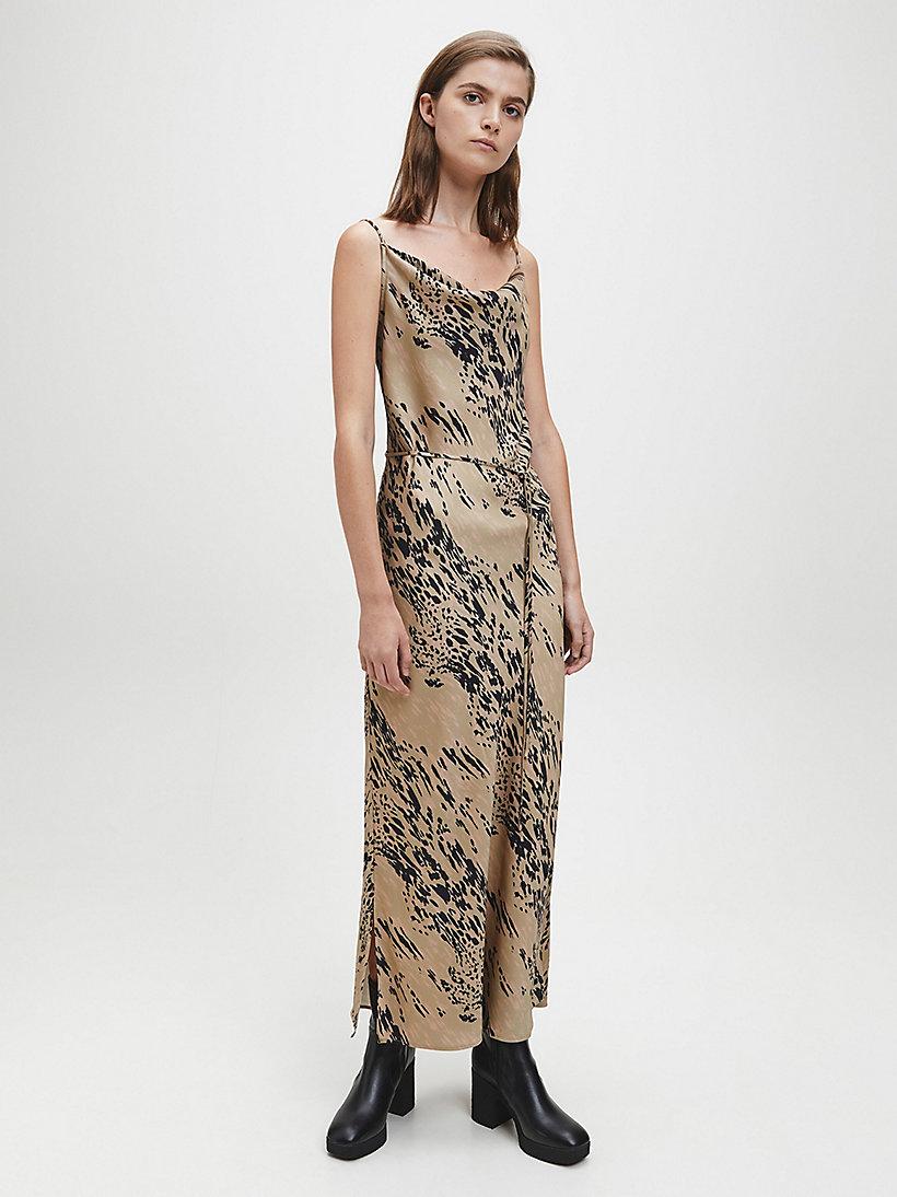 Robe Caraco A Encolure Degagee Calvin Klein K20k2022920hd