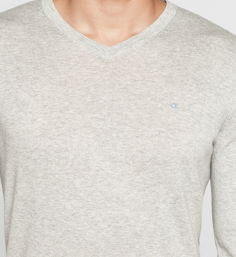 CALVINKLEIN Silk-blend Sweater - BLACK - CALVIN KLEIN MEN - detail image 2