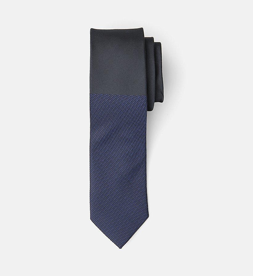 Slim Silk Viscose Tie Calvin Klein r3C2TIor