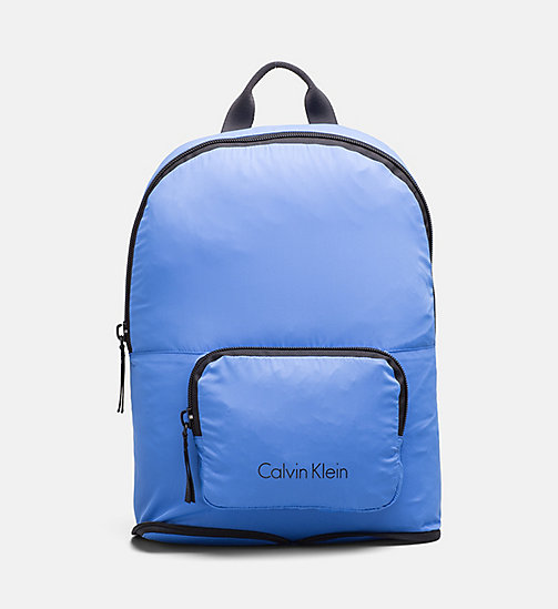 CALVINKLEIN Packable Backpack - COBALT - CALVIN KLEIN SHOES & ACCESSORIES - main image
