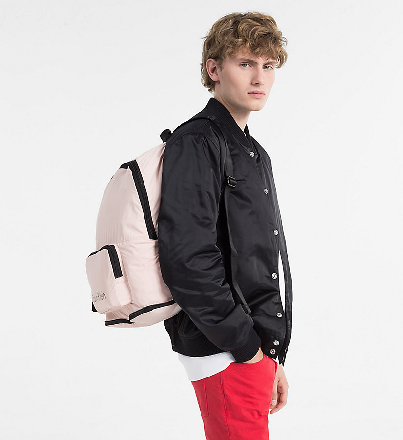 CALVINKLEIN Packable Backpack - BLACK - CALVIN KLEIN MEN - detail image 4