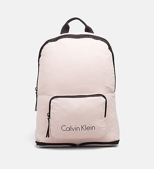 CALVINKLEIN Packable Backpack - PINK - CALVIN KLEIN BAGS - main image