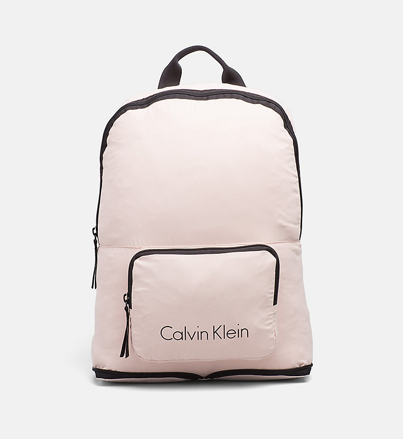 CALVINKLEIN Packable Backpack - BLACK - CALVIN KLEIN MEN - main image