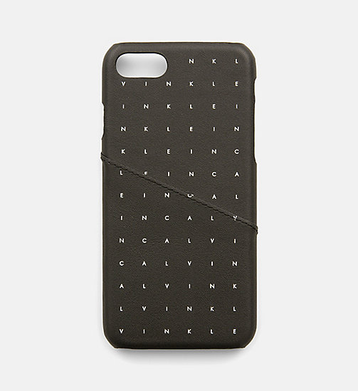 CALVINKLEIN iPhone7 Cover - CALVIN GRID - CALVIN KLEIN WALLETS & SMALL ACCESSORIES - main image