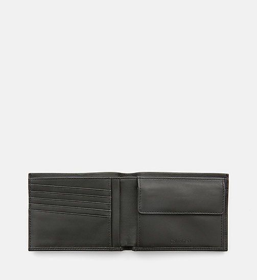 CALVINKLEIN Leather Wallet - CALVIN GRID - CALVIN KLEIN WALLETS & SMALL ACCESSORIES - detail image 1