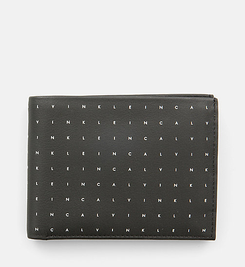 CALVINKLEIN Leather Wallet - CALVIN GRID - CALVIN KLEIN WALLETS & SMALL ACCESSORIES - main image