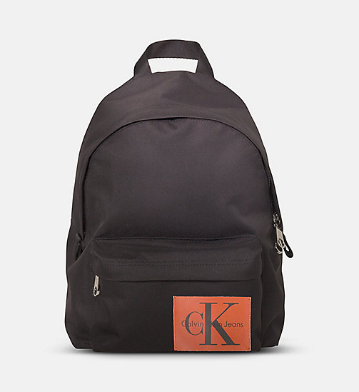 CALVIN KLEIN JEANS Medium Round Backpack - BLACK - CALVIN KLEIN JEANS NEW IN - main image