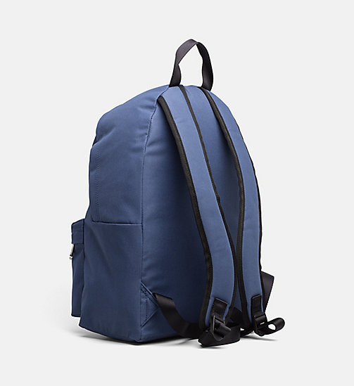 CALVIN KLEIN JEANS Medium Round Backpack - STEEL BLUE - CALVIN KLEIN JEANS TRUE COLOURS - detail image 1
