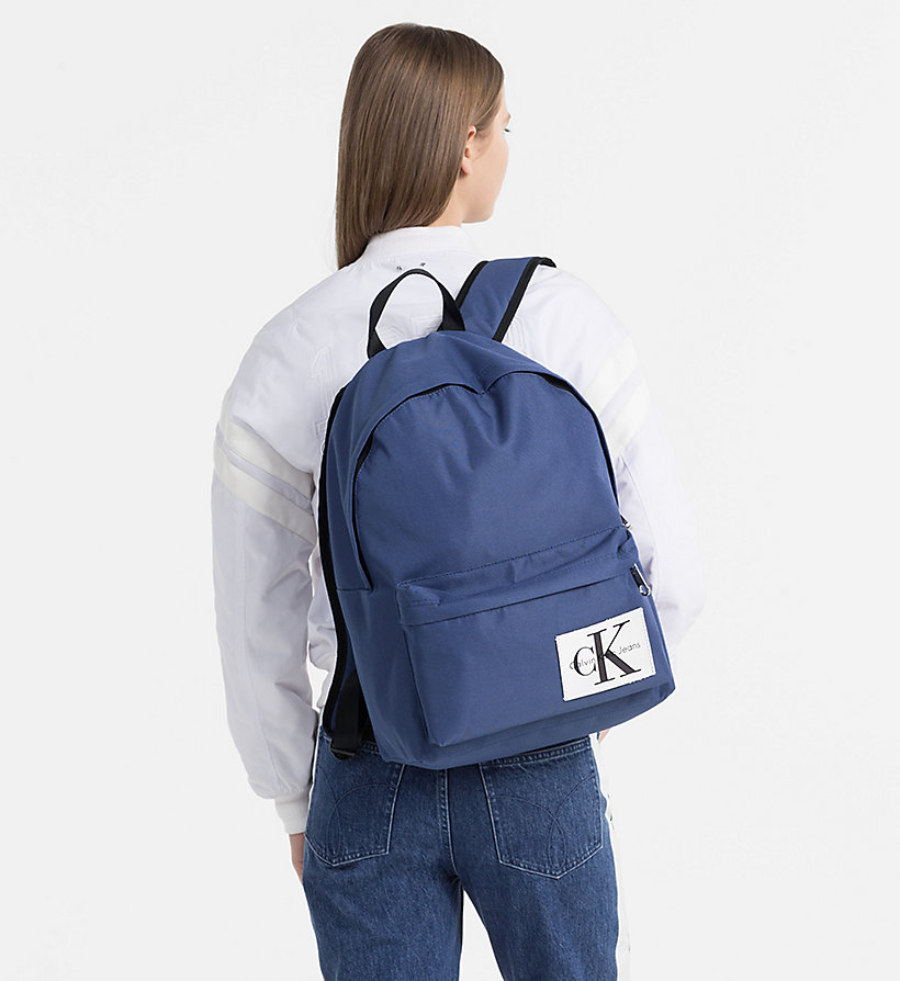 CALVIN KLEIN JEANS Medium Round Backpack - CANARY - CALVIN KLEIN JEANS MEN - detail image 3