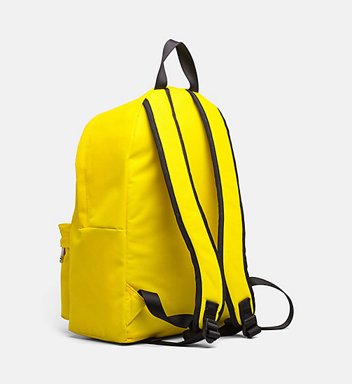 CALVIN KLEIN JEANS Medium Round Backpack - CANARY - CALVIN KLEIN JEANS BACKPACKS - detail image 1