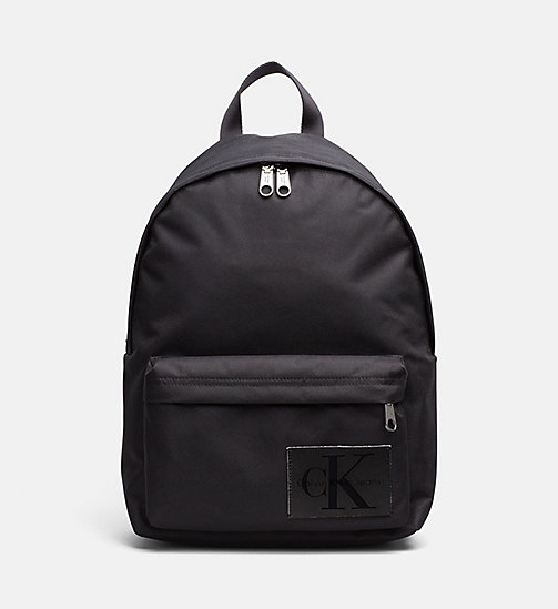 CALVIN KLEIN JEANS Medium Round Backpack - BLACK/BLACK - CALVIN KLEIN JEANS NEW IN - main image