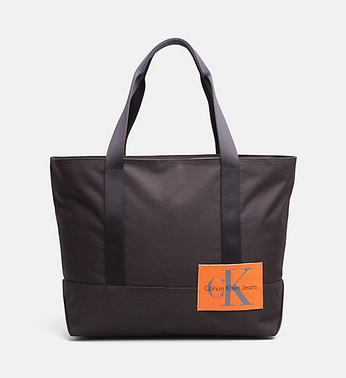 CALVIN KLEIN JEANS Medium tote bag - BLACK -  TASSEN - main image