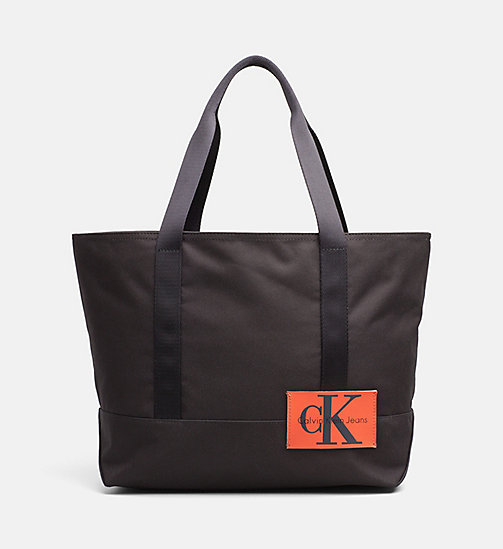 CALVIN KLEIN JEANS Medium Tote Bag - BLACK - CALVIN KLEIN JEANS NEW IN - main image