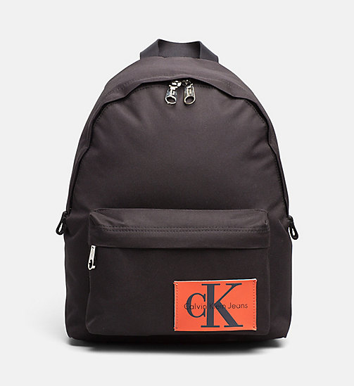 CALVIN KLEIN JEANS Small Backpack - BLACK - CALVIN KLEIN JEANS BAGS - main image