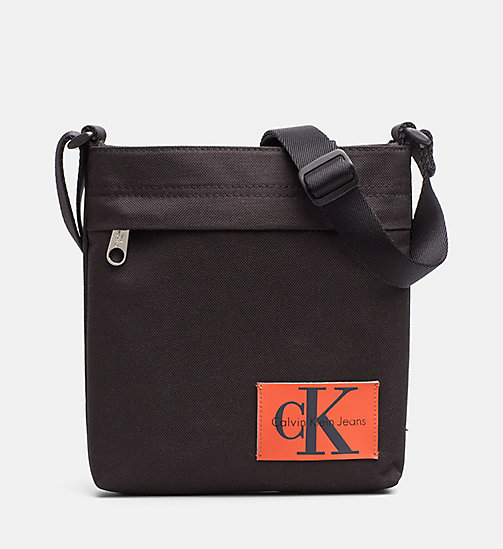 CALVIN KLEIN JEANS Flache Micro Crossover-Bag - BLACK -  NEW IN - main image