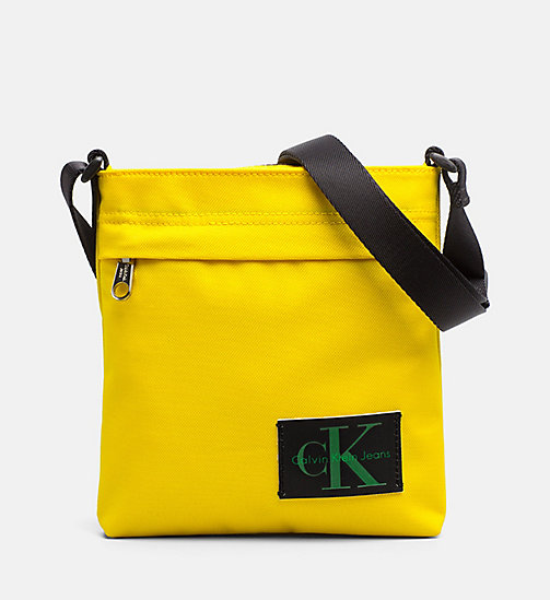 CALVIN KLEIN JEANS Flache Micro Crossover-Bag - CANARY -  NEW IN - main image