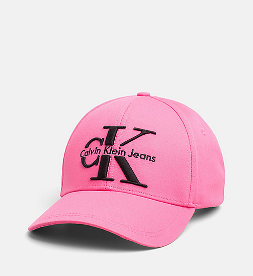 CALVIN KLEIN JEANS Baseball Cap - WILD ORCHID - CALVIN KLEIN JEANS HATS - main image