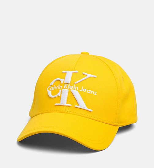 CALVIN KLEIN JEANS Baseball Cap - SPECTRA YELLOW - CALVIN KLEIN JEANS ACCESSORIES - main image