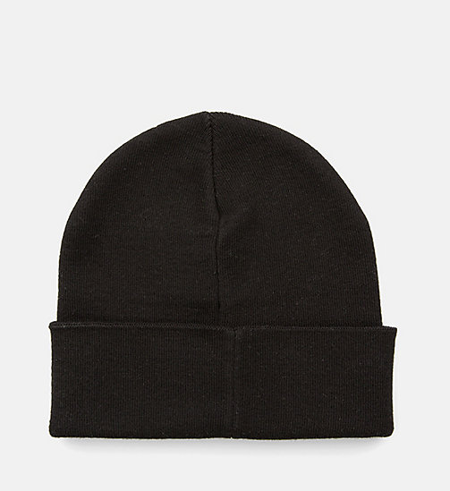 CALVIN KLEIN JEANS Beanie - BLACK - CALVIN KLEIN JEANS SHOES & ACCESSORIES - detail image 1