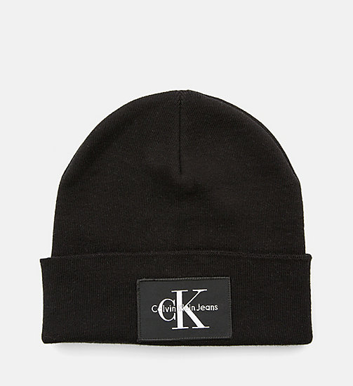 CALVIN KLEIN JEANS Beanie - BLACK - CALVIN KLEIN JEANS SHOES & ACCESSORIES - main image