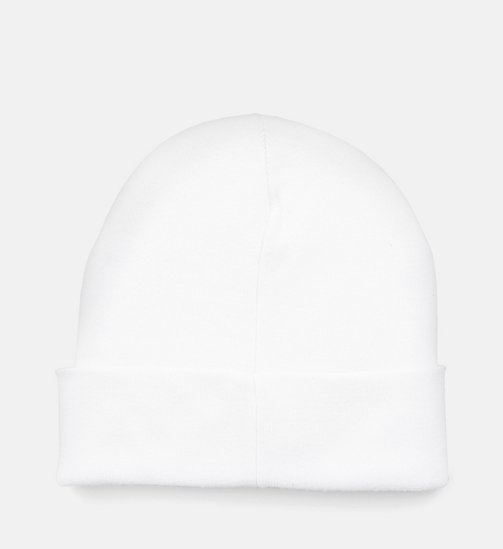 CALVIN KLEIN JEANS Beanie - BRIGHT WHITE -  NEW IN - main image 1