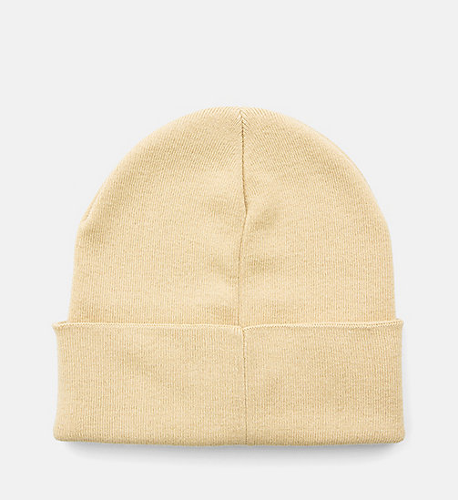 CALVIN KLEIN JEANS Beanie - SAFARI - CALVIN KLEIN JEANS SHOES & ACCESSORIES - detail image 1