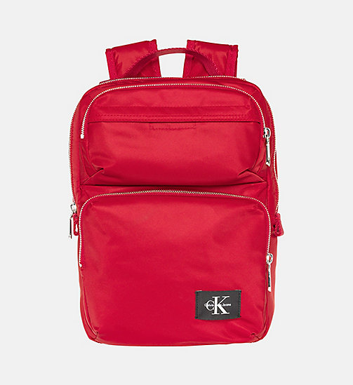 CALVIN KLEIN JEANS Small Square Backpack - SCARLETT - CALVIN KLEIN JEANS BACKPACKS - main image