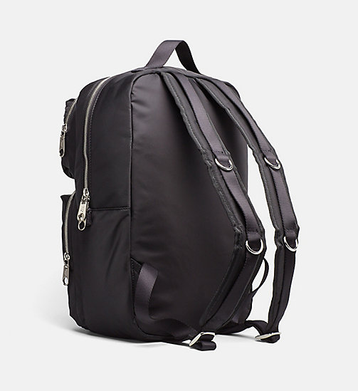 CALVIN KLEIN JEANS Medium Square Backpack - BLACK - CALVIN KLEIN JEANS BACKPACKS - detail image 1