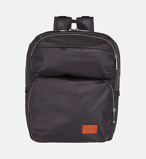 CALVIN KLEIN JEANS Medium Square Backpack - BLACK - CALVIN KLEIN JEANS BACKPACKS - main image