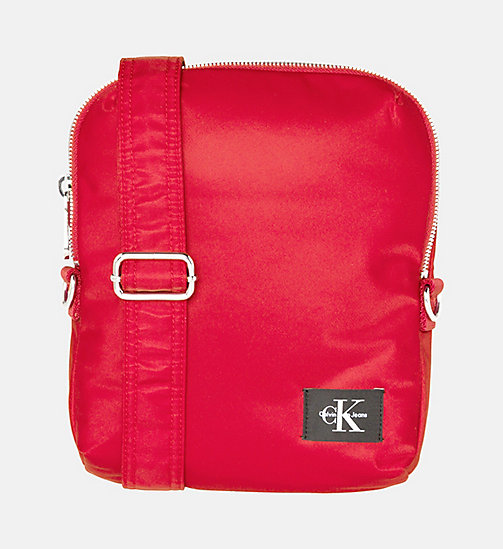 CALVIN KLEIN JEANS Flache Crossover-Bag - SCARLETT -  NEW IN - main image