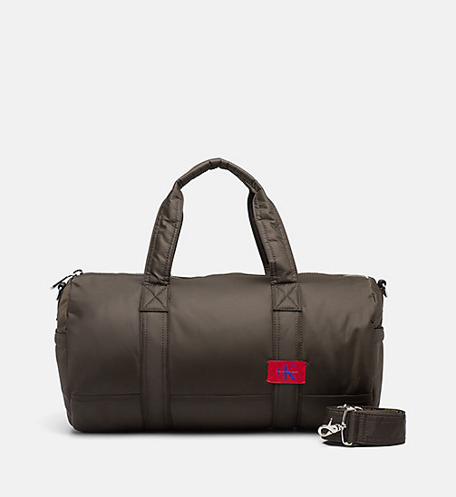 CALVIN KLEIN JEANS Cylinder Duffle Bag - CARGO - CALVIN KLEIN JEANS DUFFLE BAGS & SATCHELS - main image