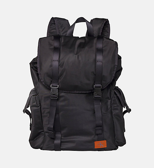 CALVIN KLEIN JEANS Functional Backpack - BLACK - CALVIN KLEIN JEANS BACKPACKS - main image