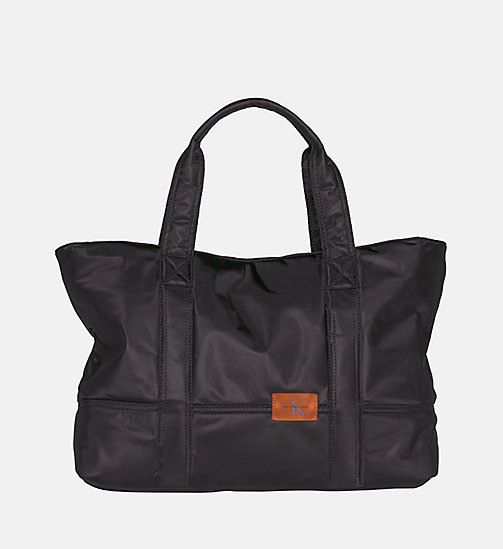 CALVIN KLEIN JEANS Large Tote Bag - BLACK - CALVIN KLEIN JEANS SHOES & ACCESSORIES - main image
