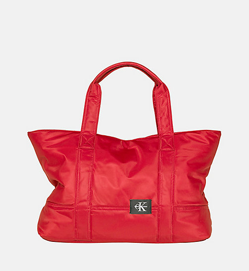 CALVIN KLEIN JEANS Large Tote Bag - SCARLETT -  NEW IN - main image