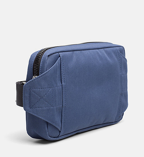 CALVIN KLEIN JEANS Crossover Sling Bag - STEEL BLUE - CALVIN KLEIN JEANS TRUE COLOURS - detail image 1