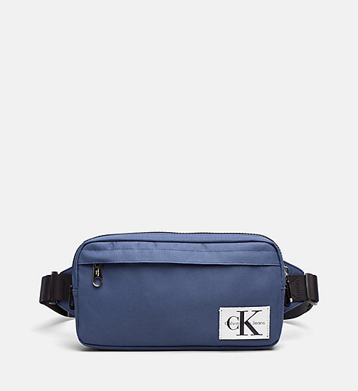 CALVIN KLEIN JEANS Crossover Sling Bag - STEEL BLUE - CALVIN KLEIN JEANS TRUE COLOURS - main image