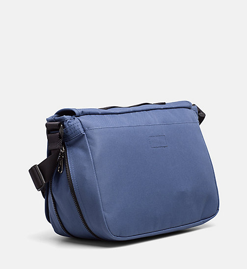 CALVIN KLEIN JEANS Messenger Bag - STEEL BLUE - CALVIN KLEIN JEANS SHOES & ACCESSORIES - detail image 1