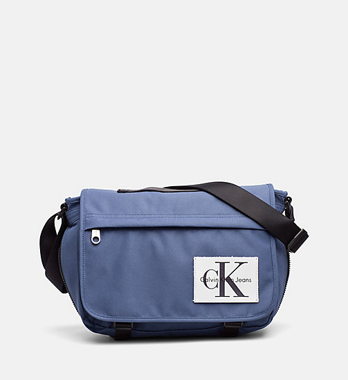 CALVIN KLEIN JEANS Messenger Bag - STEEL BLUE - CALVIN KLEIN JEANS SHOES & ACCESSORIES - main image
