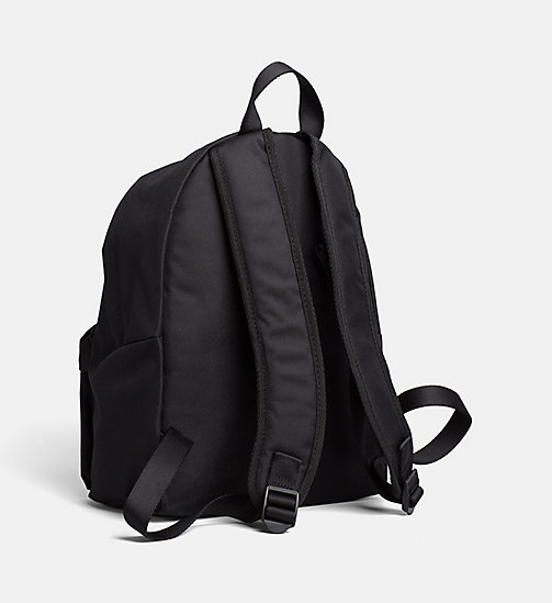 CALVIN KLEIN JEANS Small Round Backpack - BLACK/BLACK - CALVIN KLEIN JEANS TRUE COLOURS - detail image 1