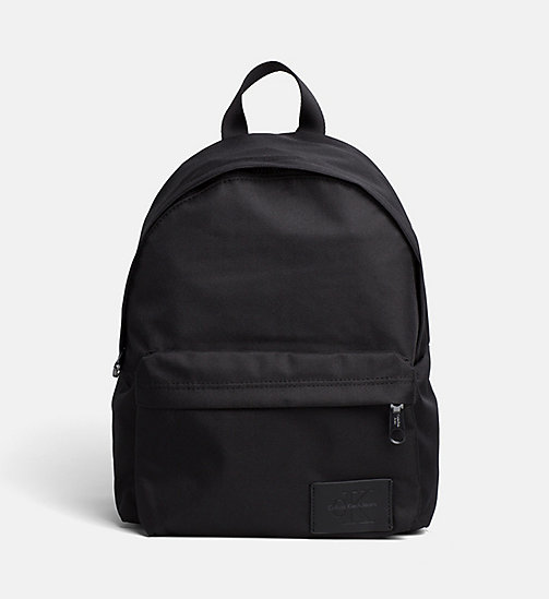 CALVIN KLEIN JEANS Small Round Backpack - BLACK/BLACK - CALVIN KLEIN JEANS TRUE COLOURS - main image
