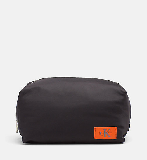 CALVIN KLEIN JEANS Wash Bag - BLACK - CALVIN KLEIN JEANS NEW IN - main image