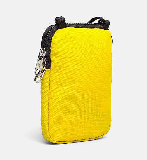 CALVIN KLEIN JEANS Phone Crossover - CANARY - CALVIN KLEIN JEANS WALLETS & SMALL ACCESSORIES - detail image 1
