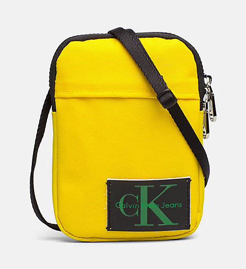 CALVIN KLEIN JEANS Phone Crossover - CANARY - CALVIN KLEIN JEANS WALLETS & SMALL ACCESSORIES - main image