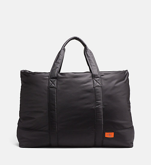 CALVIN KLEIN JEANS Extra Large Tote Bag - BLACK - CALVIN KLEIN JEANS NEW IN - main image