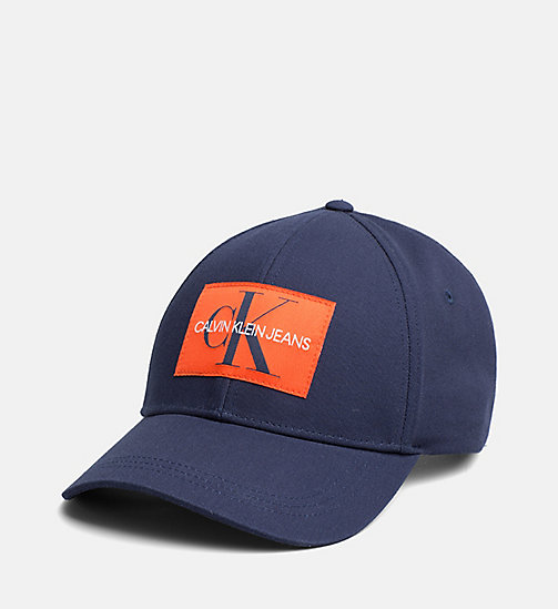 CALVIN KLEIN JEANS Logo Baseball Cap - BLUE DEPTHS - CALVIN KLEIN JEANS NEW IN - main image