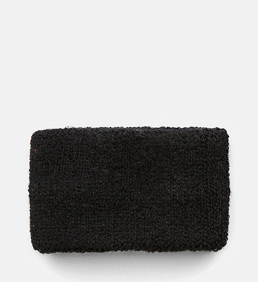 CALVIN KLEIN JEANS Wrist Sweatband - BLACK BEAUTY - CALVIN KLEIN JEANS NEW IN - detail image 1