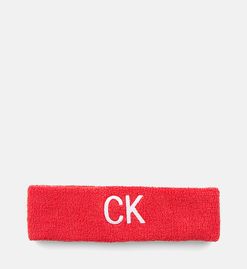 CALVIN KLEIN JEANS Head Sweatband - BLACK BEAUTY - CALVIN KLEIN JEANS WOMEN - main image