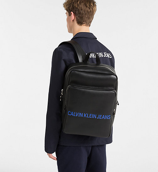 CALVIN KLEIN JEANS Square Backpack - BLACK - CALVIN KLEIN JEANS PACK YOUR BAG - detail image 1