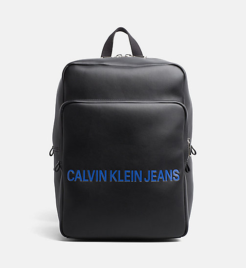 CALVIN KLEIN JEANS Square Backpack - BLACK - CALVIN KLEIN JEANS PACK YOUR BAG - main image