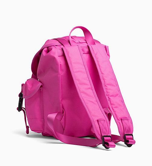 CALVIN KLEIN JEANS Medium Backpack - WILD ORCHID - CALVIN KLEIN JEANS HIS AND HERS - detail image 1